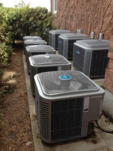 large residential air conditioning job in Gananoque